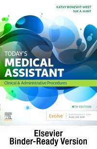 cover image - Today's Medical Assistant - Binder Ready,4th Edition