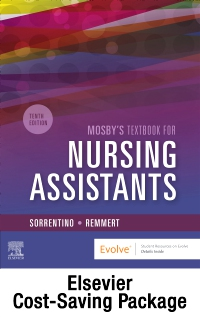 cover image - Mosby's Textbook for Nursing Assistants - Textbook and Workbook Package,10th Edition