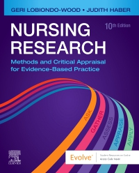 cover image - Evolve Resources for Nursing Research,10th Edition