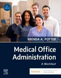 cover image - Medical Office Administration,5th Edition