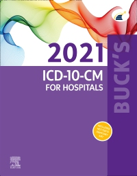 cover image - Buck's 2021 ICD-10-CM for Hospitals - Elsevier E-Book on VitalSource