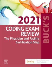 cover image - Buck's Coding Exam Review 2021 - Elsevier E-Book on VitalSource