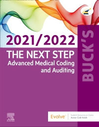 cover image - Evolve Resources for Buck's The Next Step: Advanced Medical Coding and Auditing, 2021/2022 Edition
