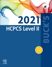 cover image - Buck's 2021 HCPCS Level II - Elsevier E-Book on VitalSource