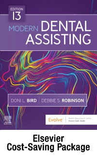 cover image - Dental Assisting Online for Modern Dental Assisting (Access Code, Textbook, Workbook, and Boyd: Dental Instruments 7e Package),13th Edition