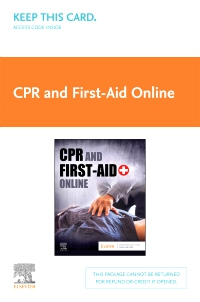cover image - CPR and First-Aid Online (Access Card)