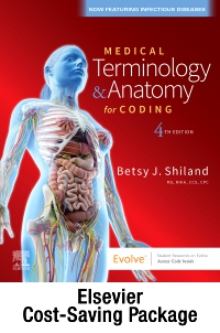 cover image - Medical Terminology Online for Medical Terminology & Anatomy for Coding (Access Code and Textbook Package),4th Edition