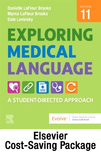 cover image - Medical Terminology Online for Exploring Medical Language (Access Code and Textbook Package),11th Edition