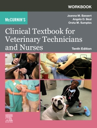 cover image - Workbook for McCurnin's Clinical Textbook for Veterinary Technicians Elsevier eBook on VitalSource,10th Edition