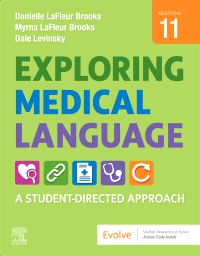 cover image - Exploring Medical Language Elsevier eBook on VitalSource,11th Edition