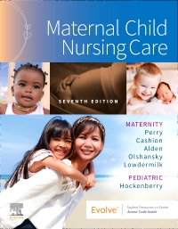 cover image - Maternal Child Nursing Care,7th Edition