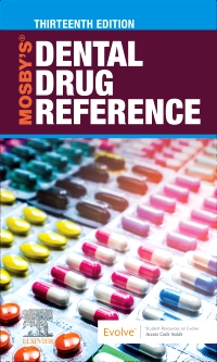 cover image - Mosby's Dental Drug Reference - Elsevier eBook on VitalSource,13th Edition