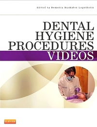 cover image - Dental Hygiene and Saunders: Dental Hygiene Procedures Videos Package,5th Edition