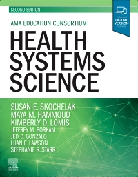 cover image - Evolve Resources for Health Systems Science,2nd Edition