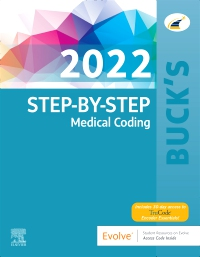 cover image - Buck's Step-by-Step Medical Coding, 2022 Edition
