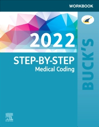 cover image - Buck's Workbook for Step-by-Step Medical Coding, 2022 Edition