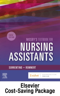 cover image - Mosby's Textbook for Nursing Assistants - Text, Workbook and Clinical Skills,10th Edition