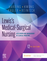 cover image - Evolve Resources for Lewis's Medical-Surgical Nursing,12th Edition