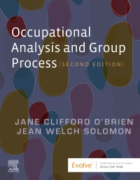 cover image - Occupational Analysis and Group Process,2nd Edition
