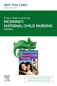 cover image - Elsevier Adaptive Quizzing for McKinney Maternal-Child Nursing (Access Card),5th Edition