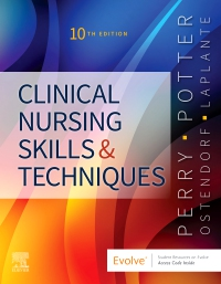 cover image - Clinical Nursing Skills and Techniques - Elsevier eBook on VitalSource,10th Edition