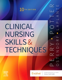cover image - Evolve Resources for Clinical Nursing Skills and Techniques,10th Edition