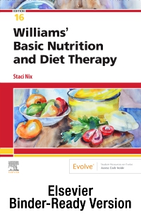 cover image - Williams' Basic Nutrition & Diet Therapy - Binder Ready,16th Edition