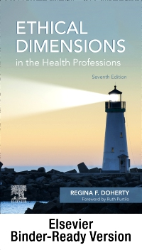 cover image - Ethical Dimensions in the Health Professions - Binder Ready,7th Edition