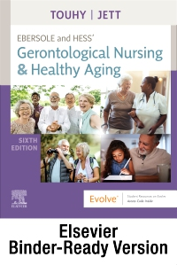 cover image - Ebersole and Hess' Gerontological Nursing & Healthy Aging - Binder Ready,6th Edition