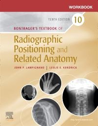 cover image - Workbook for Bontrager's Textbook of Radiographic Positioning and Related Anatomy - Elsevier eBook on VitalSource,10th Edition