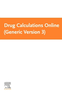cover image - Drug Calculations Online (Generic Version 3) - eCommerce