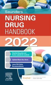 cover image - Saunders Nursing Drug Handbook 2022 Elsevier eBook on VitalSource