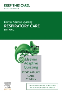 cover image - Elsevier Adaptive Quizzing for Respiratory Care (Access Card),2nd Edition