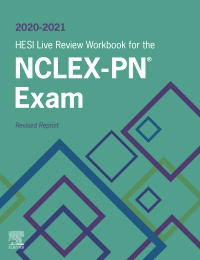 cover image - 2020-2021 HESI Live Review Workbook for the NCLEX-PN Examination, Revised Reprint - Elsevier eBook on VitalSource,3rd Edition