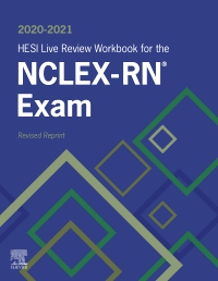 cover image - 2020-2021 HESI Live Review Workbook for the NCLEX-RN Examination, Revised Reprint - Elsevier eBook on VitalSource,3rd Edition