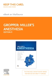 cover image - Miller's Anesthesia - Elsevier eBook on VitalSource (Retail Access Card),9th Edition