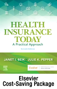 cover image - Health Insurance Today - Text and Workbook Package,7th Edition