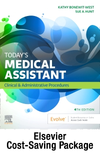 cover image - Today's Medical Assistant - Book, Study Guide, and SimChart for the Medical Office 2021 Edition Package,4th Edition