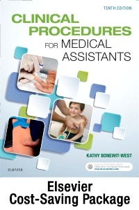 cover image - Clinical Procedures for Medical Assistants - Book, Study Guide, and SimChart for the Medical Office 2021 Edition Package,10th Edition