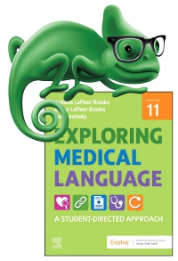 cover image - Elsevier Adaptive Quizzing for Exploring Medical Language,11th Edition