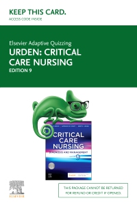 cover image - Elsevier Adaptive Quizzing for Critical Care Nursing - Access Card,9th Edition