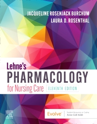 cover image - Lehne's Pharmacology for Nursing Care Elsevier e-Book on VitalSource,11th Edition