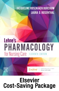 cover image - Lehne's Pharmacology for Nursing Care - Text and Pharmacology Online package,11th Edition