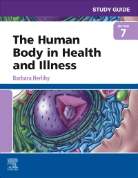 cover image - Study Guide for The Human Body in Health and Illness - Elsevier eBook on VitalSource,7th Edition