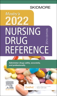 cover image - Mosby's 2022 Nursing Drug Reference,35th Edition