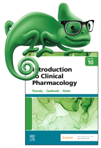 cover image - Elsevier Adaptive Quizzing for Introduction to Clinical Pharmacology,10th Edition