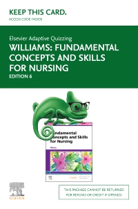 cover image - Elsevier Adaptive Quizzing for Fundamental Concepts and Skills for Nursing (Access Card),6th Edition