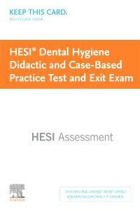 cover image - Dental Hygiene Didactic and Case-Based Practice Test and Exit Exam