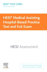 cover image - HESI Comprehensive Medical Assisting Continuing Education Exam + Practice Test