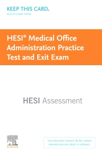 cover image - Medical Office Administration Practice Test and Exit Exam